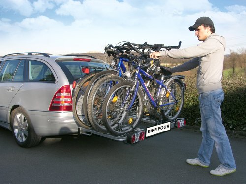 eufab bike four test der edle fahrradtr ger. Black Bedroom Furniture Sets. Home Design Ideas